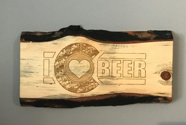 Co Beer Sign