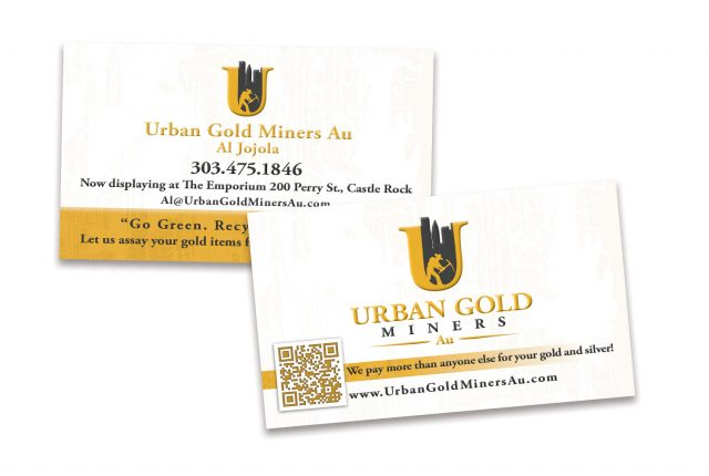 Urban Gold Miners Business Cards